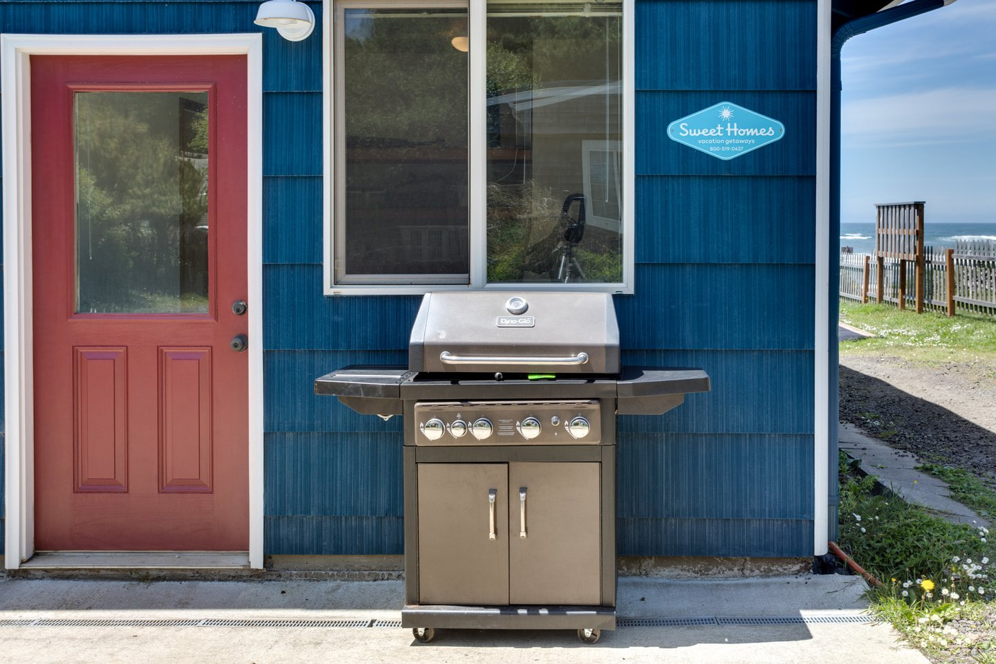 This grill is waiting for you to bring home the catch of the day!