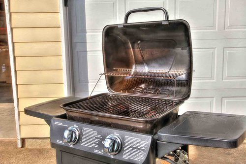 Gas Grill for outdoor culinary adventures.