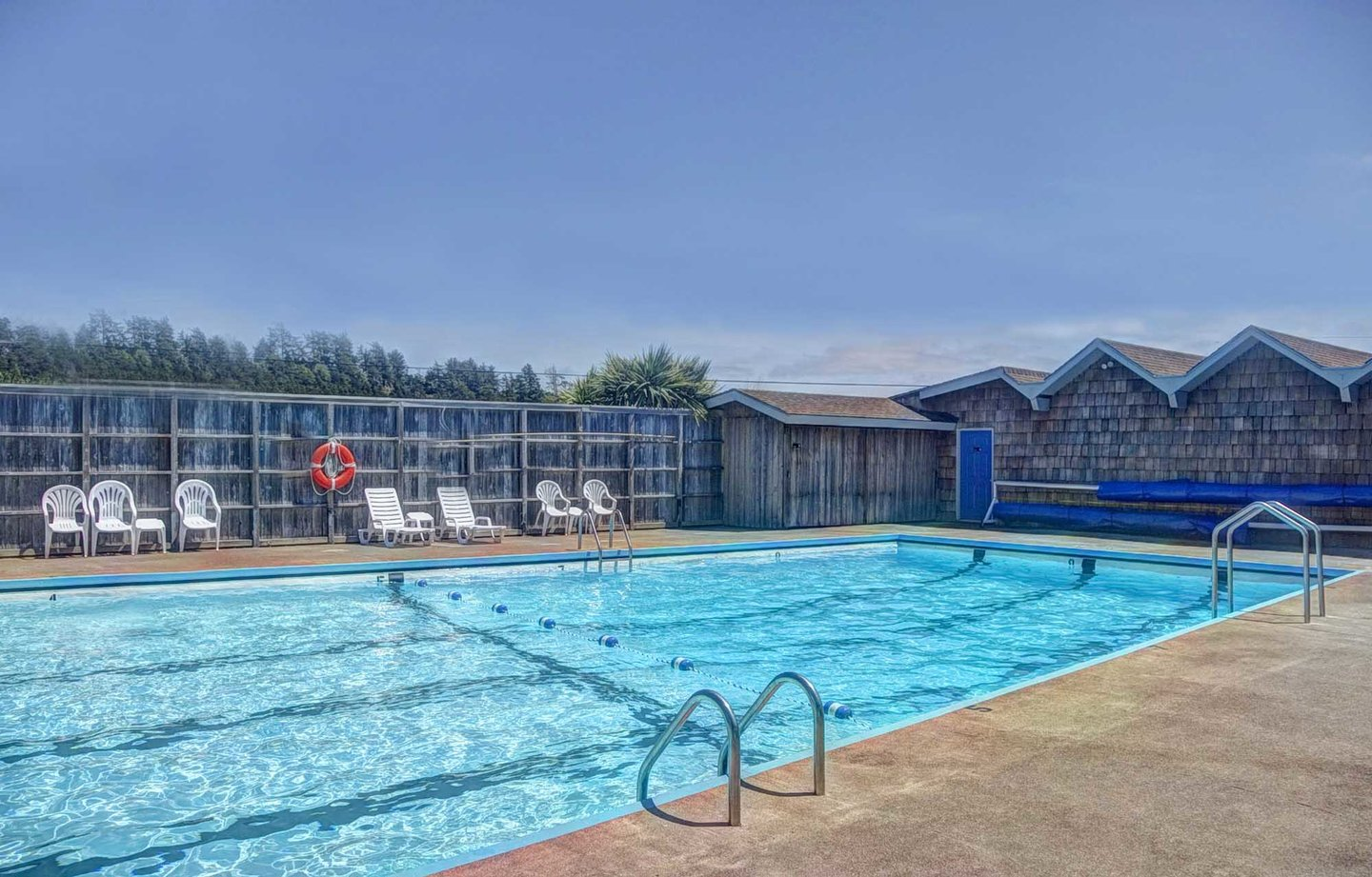 You can visit the Bayshore Club during the summer and take advantage of the pool for a small fee.