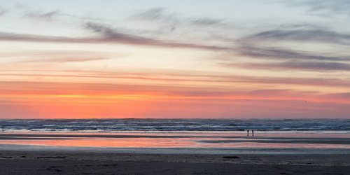 Watch the wonderful sunsets sink into the Pacific Ocean.