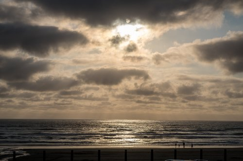 Watch all the different sunsets while staying at the Oregon coast.