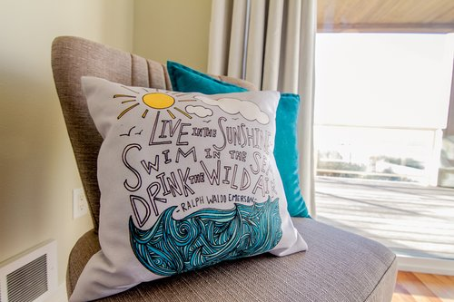 Who knew pillows gave such good advice?