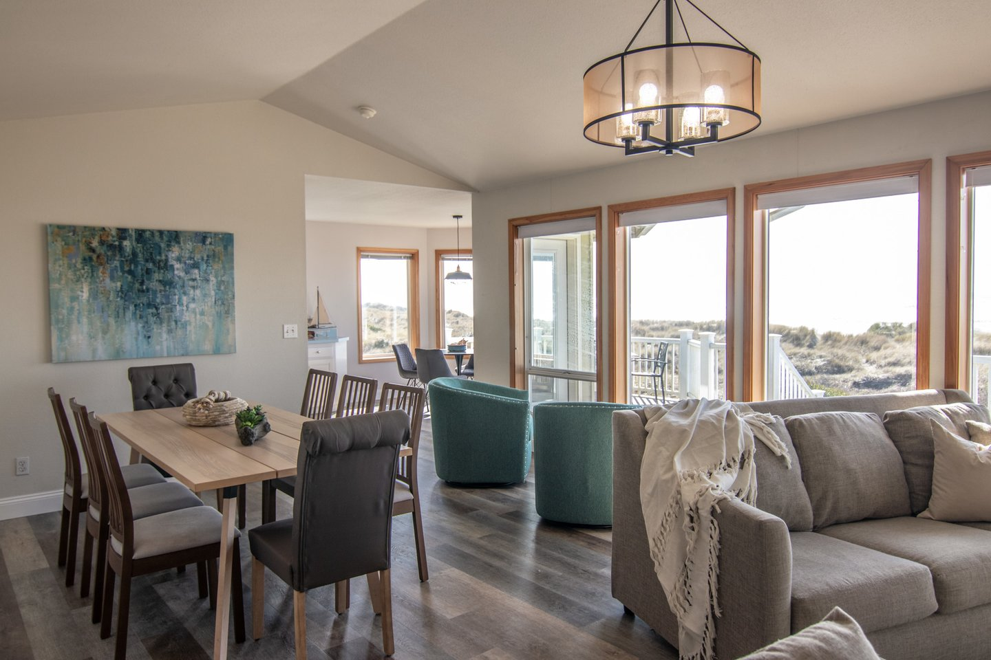 The open floorplan is perfect for the whole family to spend time together.