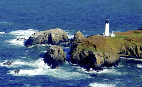 Visit Yaquina Head Lighthouse to learn about lighthouse history.